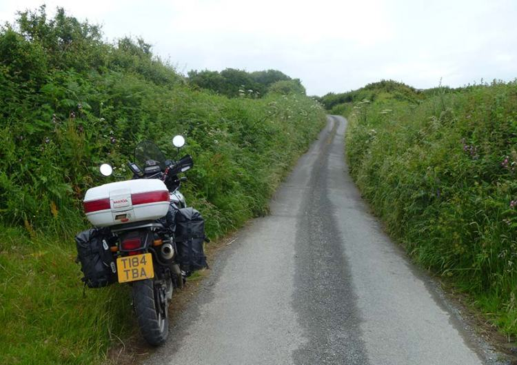 Motorcycle Touring in the UK - Country Lanes