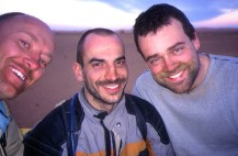 Me, Jon and Andy: the Desert Riders