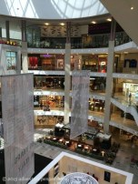 """6 floors of Pavilion Mall. Note that this is a """"regular"""" mall, not a mega mall."""
