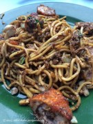 Fried noodles from our favorite hawker stall.