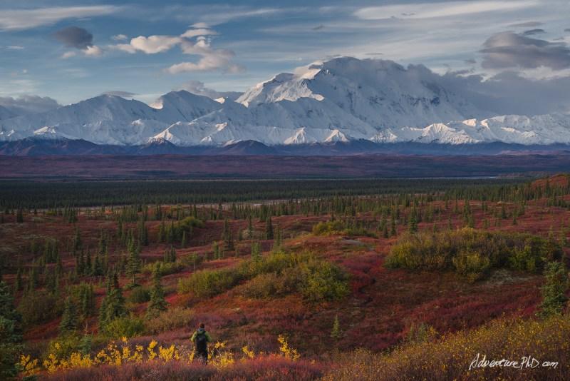 Mount. Denali in the fall season, Alaska, USA