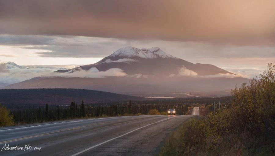 Alaska road trip along the Glenn Highway