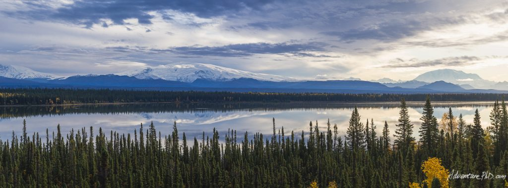 Mount Drum, Sanford, Wrangell, and Blackburn. WRANGELL-SAINT ELIAS NATIONAL PARK, Alaska Photography
