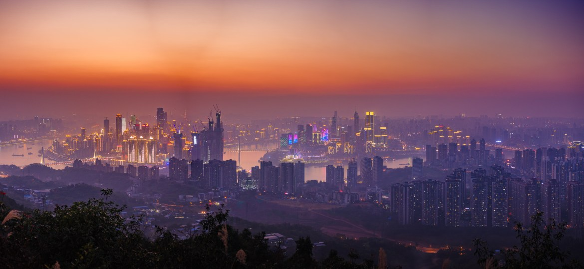 Chongqing night scene
