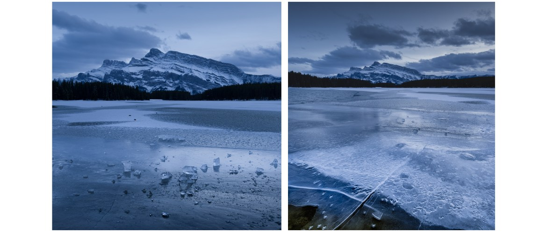 Two Jack Lake winter
