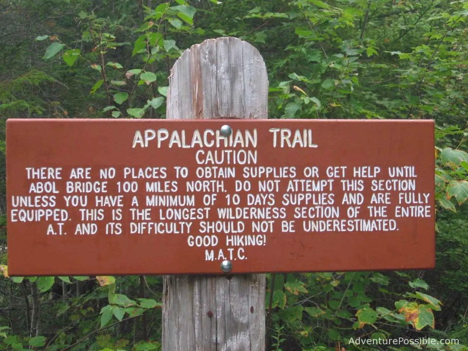 94d178cae9f 5 Dangers that Could Kill You Hiking the 100 Mile Wilderness