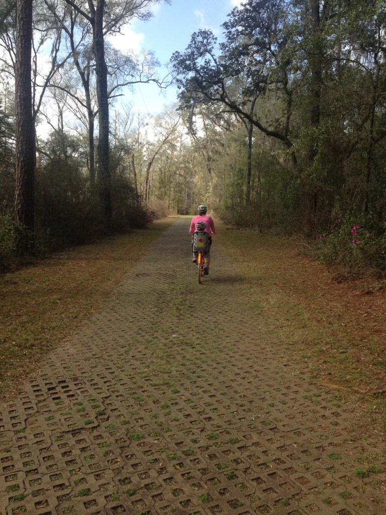 Biking at Stephen Foster State Park