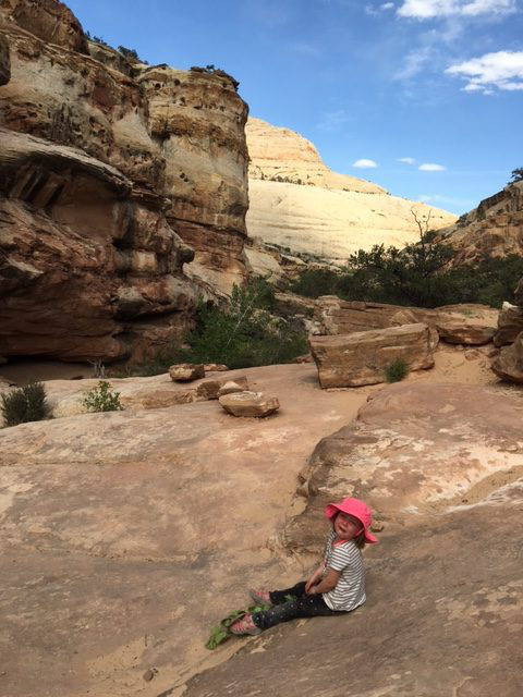 Tears on the trail in Zion National Park