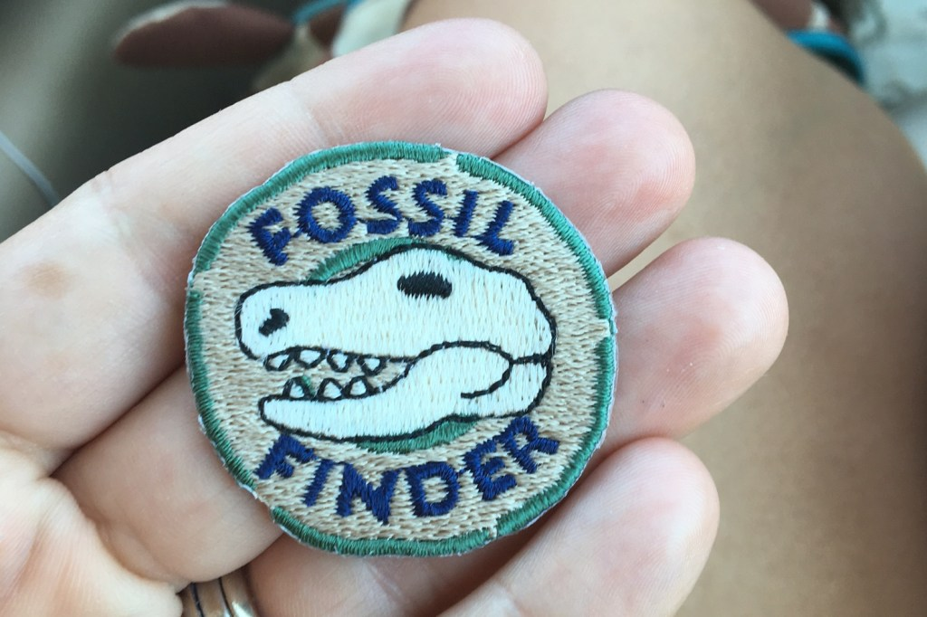 Fossil Finder Patch