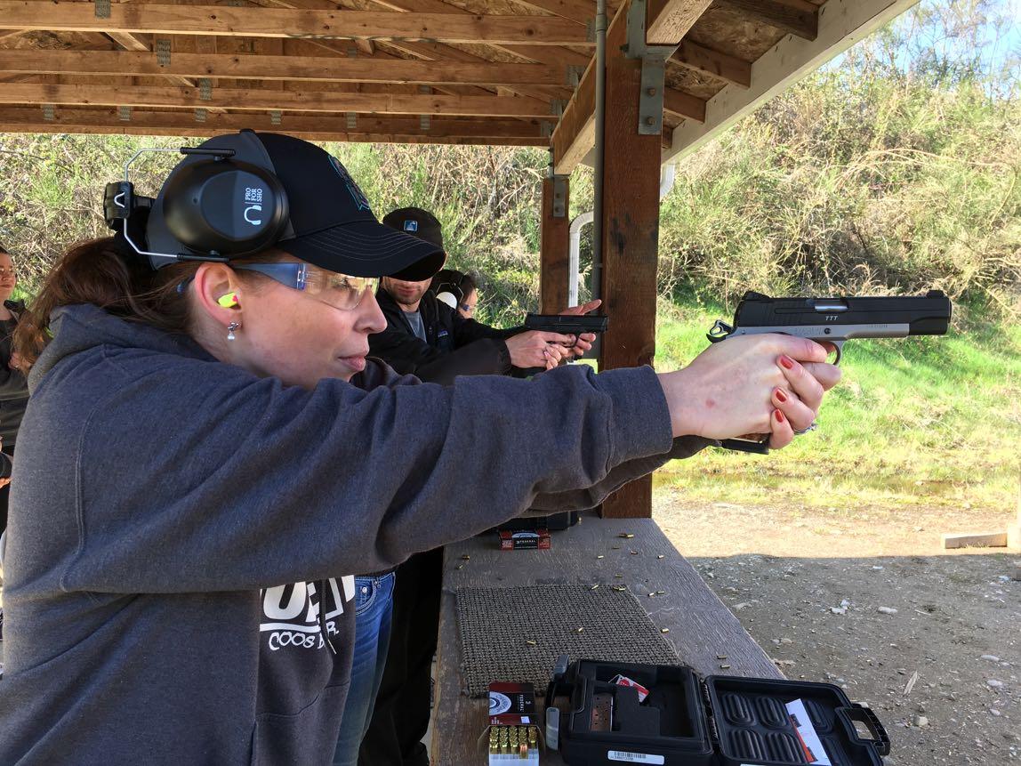 Woman Firearm Enthusiast