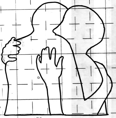 Body Language quilts by Ellen Lindner. AdventureQuilter.com
