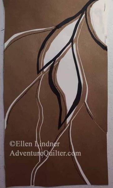 Designing with Elizabeth Barton. Ellen Lindner, AdventureQuilter.com/blog