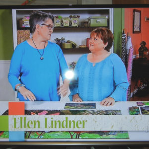 Ellen Lindner on Quilting Arts TV. AdventureQuilter.com/blog
