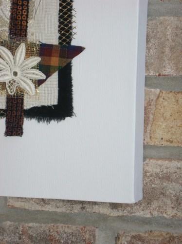 Framing small works. Ellen Lindner, AdventureQuilter.com