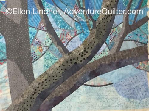 Should I Make it More Abstract? Ellen Lindner, AdventureQuilter.com/blog