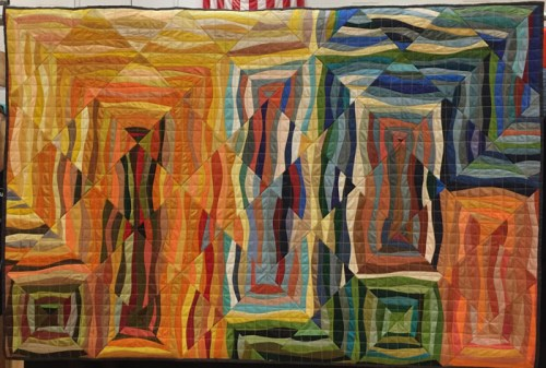 Quilts by Noel Keith. Ellen Lindner, AdventureQuilter.com/blog