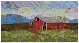 An art quilt by Ellen Lindner. AdventureQuilter.com