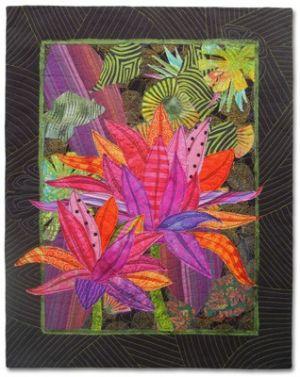 High Ti, an art quilt by Ellen Lindner. AdventureQuilter.com