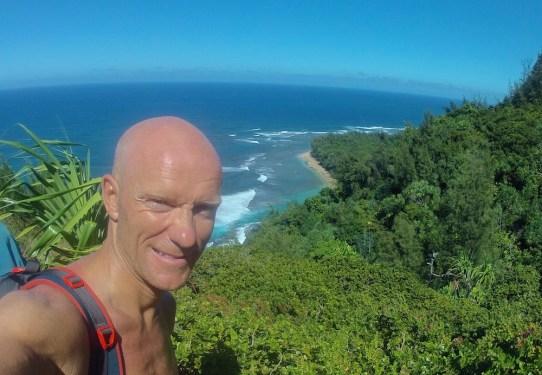 Blick hinunter zum Ke'e Beach