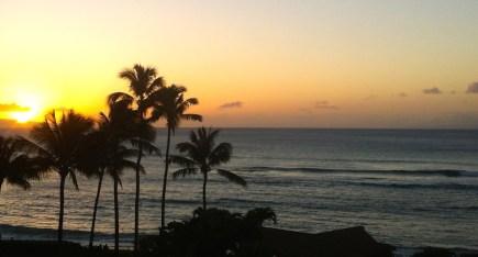 Maui Sunset vom Apartment