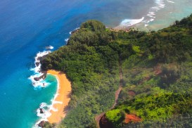 North Shore aus dem Helicopter