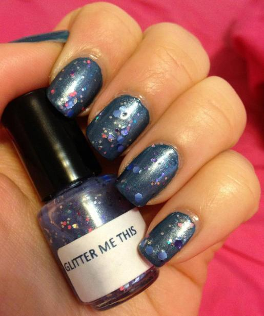 Glitter Me This – Purple Galaxy
