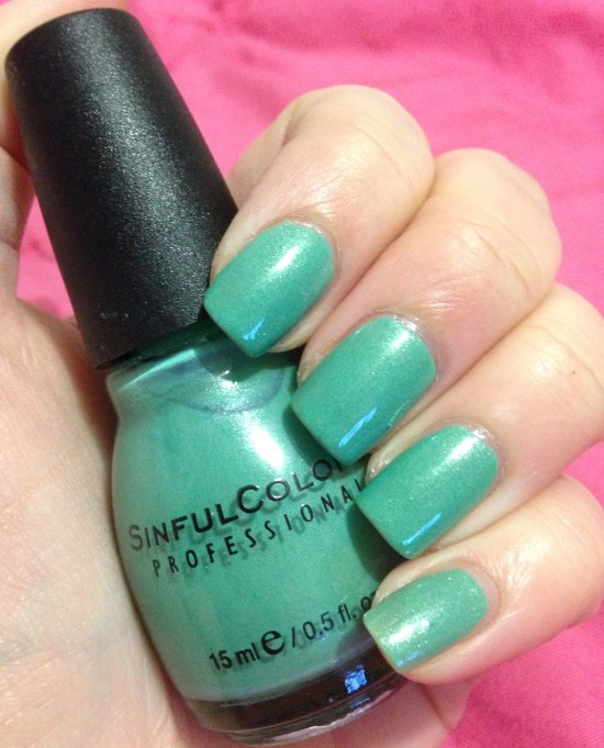 SinfulColors in Mint Apple