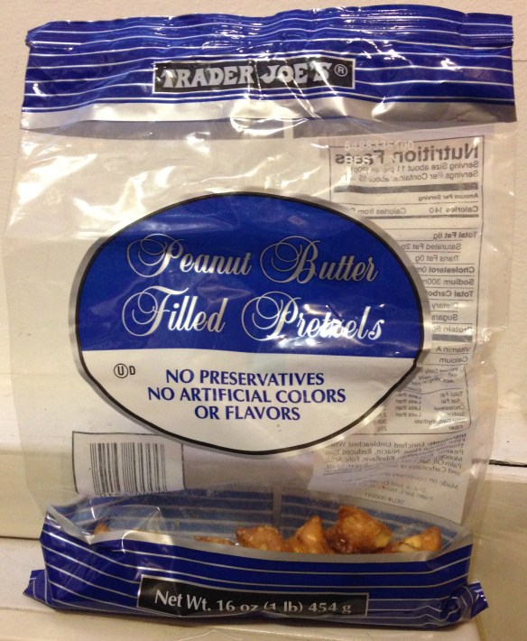 Trader Joe's Peanut Butter Filled Pretzels