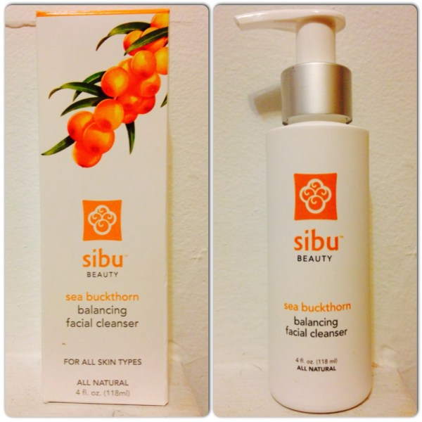 Sibu Beauty | Sea Buckthorn Balancing Facial Cleanser