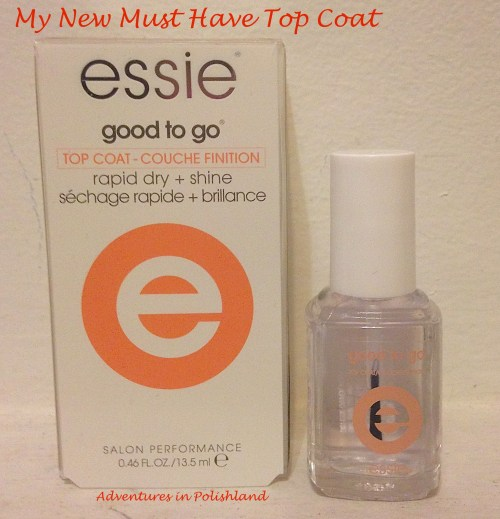 My New Must Have Top Coat | Essie Good to Go