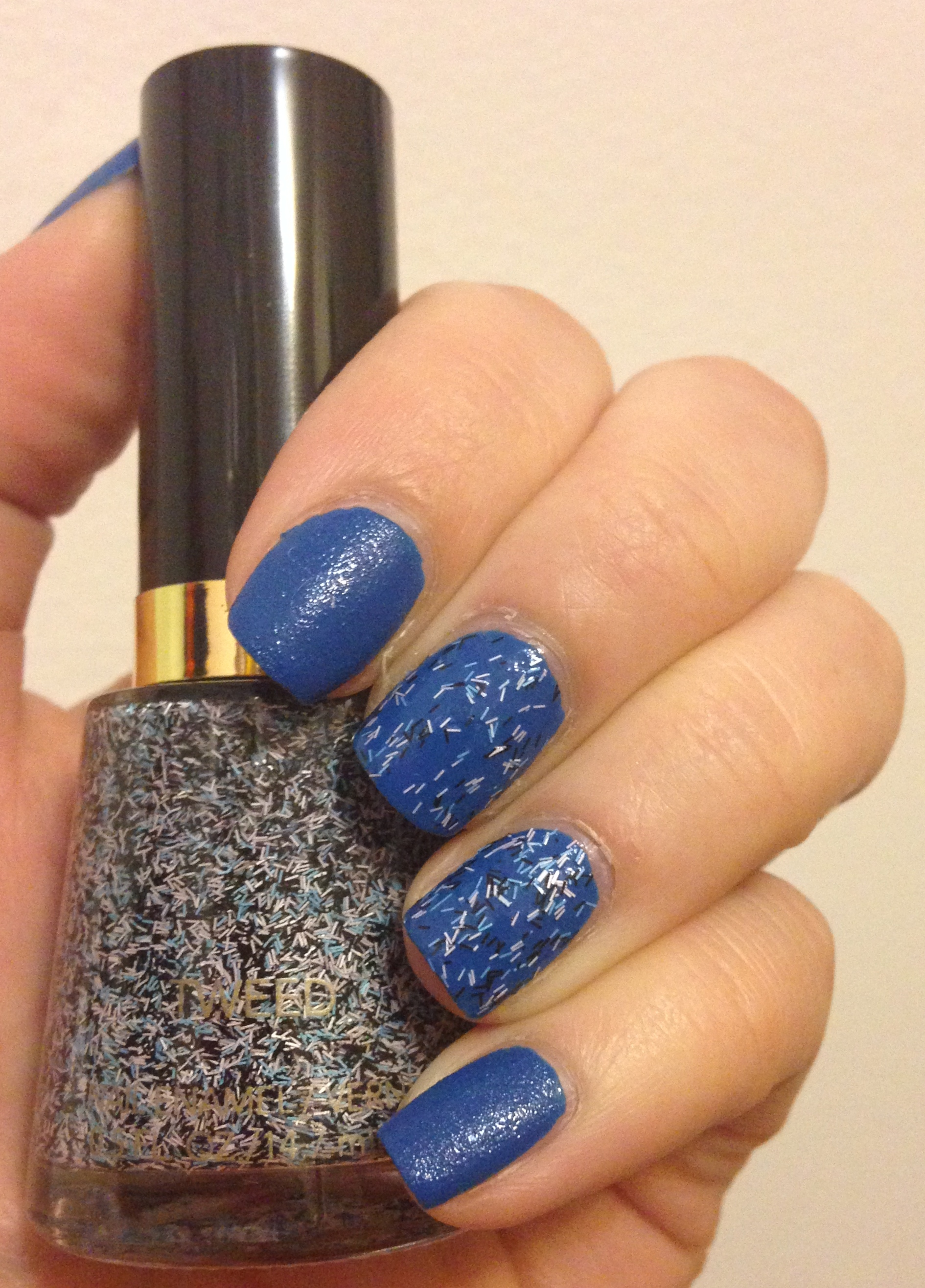 Mixing Nail Polish Trends with the Revlon Leather and Tweed ...