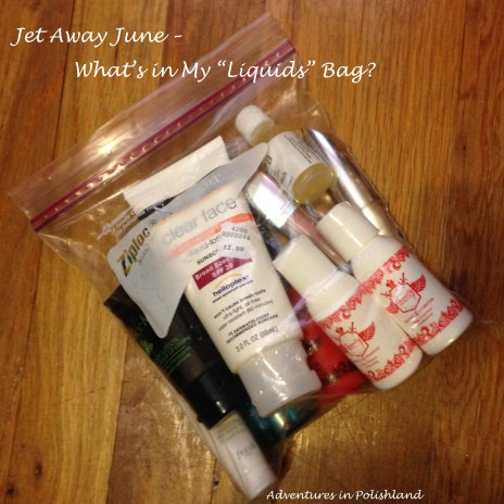 "Jet Away June | What's in My ""Liquids"" Bag? (3-1-1 Rule)"