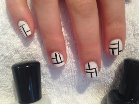 Piet Mondrian Steps 1 & 2
