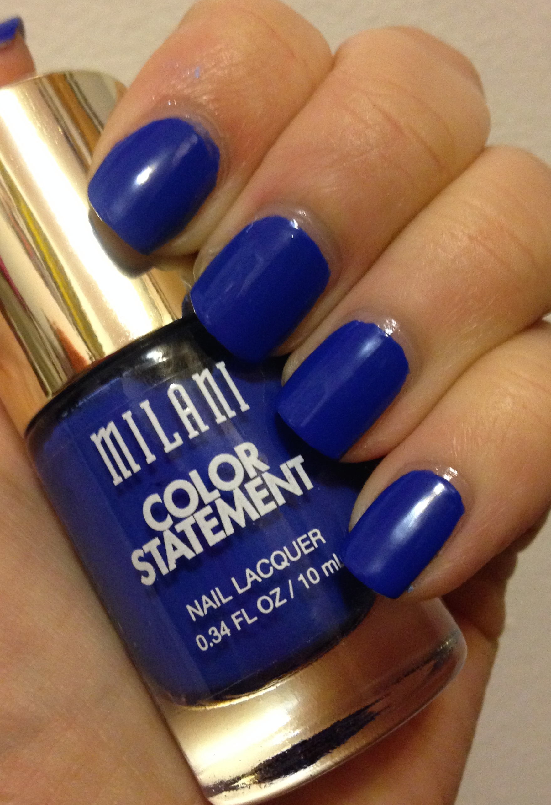 Milani Color Statement Nail Lacquer | Greens & Blues – Adventures in ...