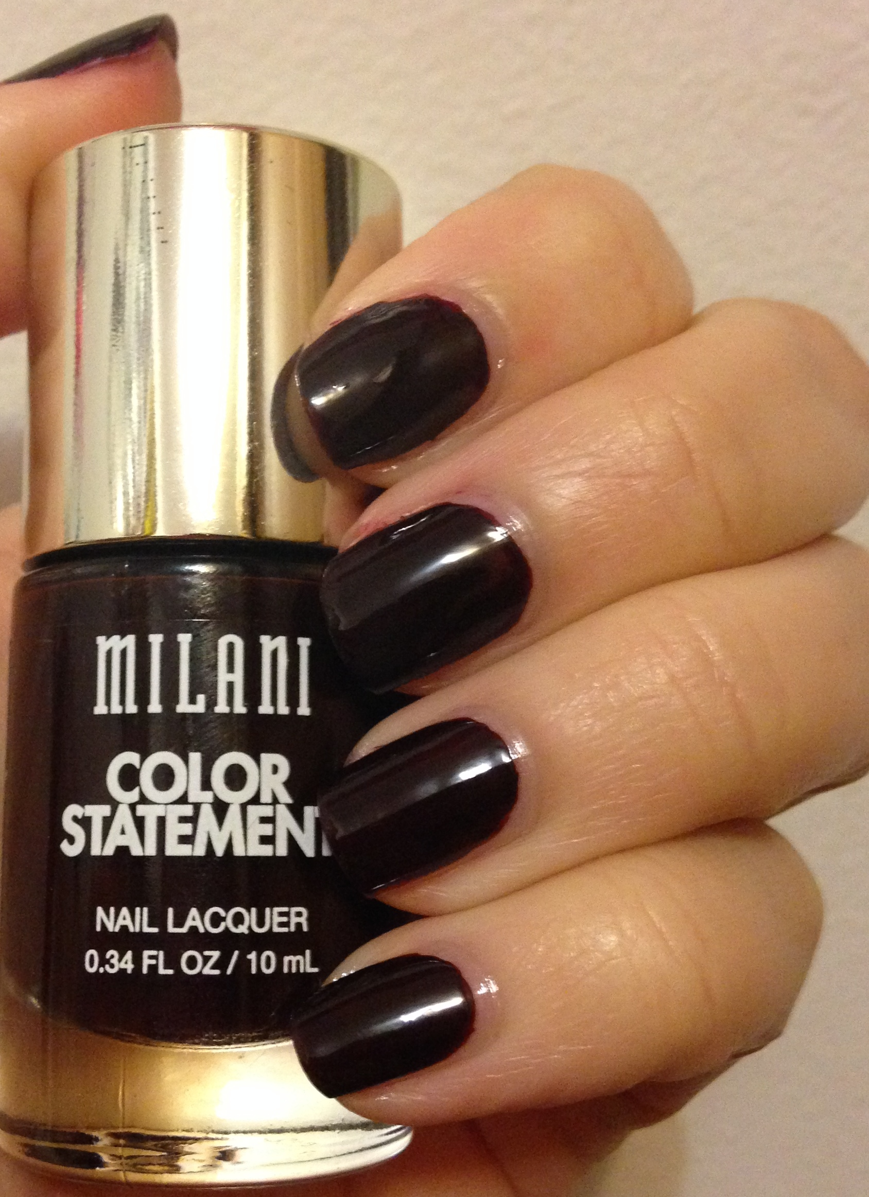 Milani Color Statement Nail Lacquer | Reds | Adventures in Polishland
