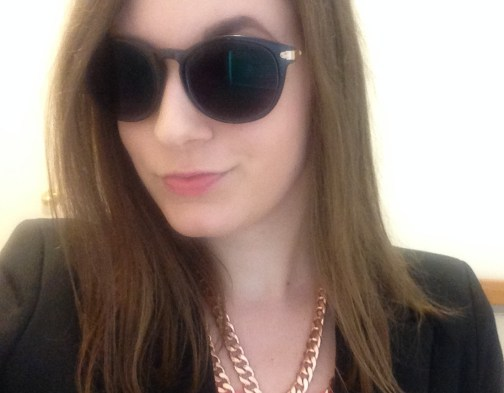 Fall Office Fashion with Firmoo Sunglasses | Adventures in Polishland