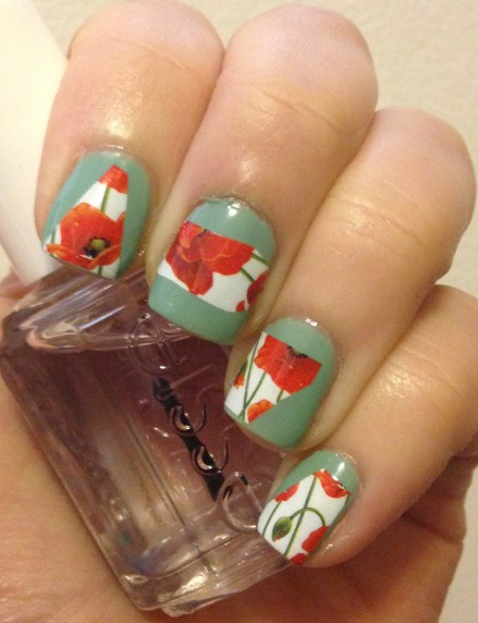 Abstract Floral Nails | Adventures in Polishland
