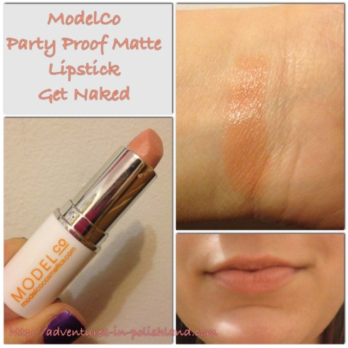 ModelCo Party Proof Matte Lipstick in Get Naked