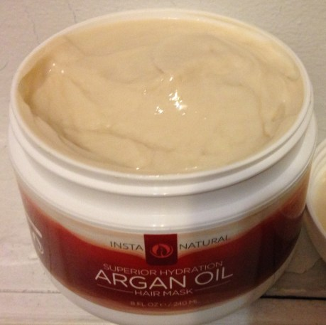 InstaNatural Argan Oil Hair Mask Review