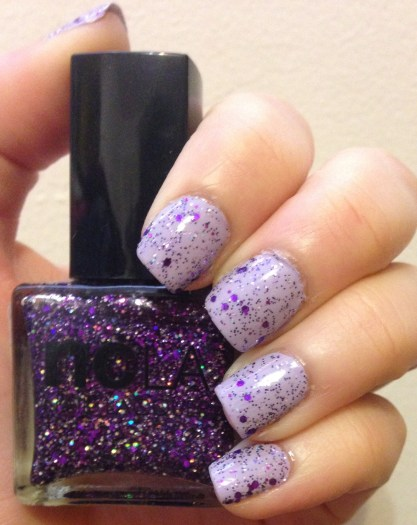 Manicure Monday | ncLC As If + Miss Sunset Strip