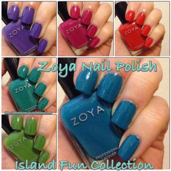 Zoya Nail Polish Island Fun Collection for Summer 2015