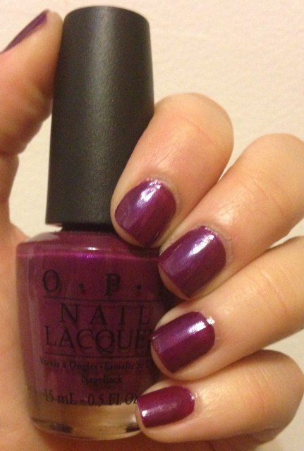 Manicure Monday | OPI Louvre Me Louvre Me Not
