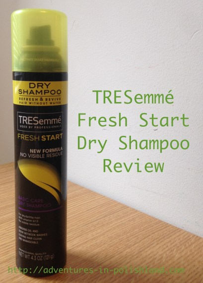 TRESemmé Fresh Start Dry Shampoo Review