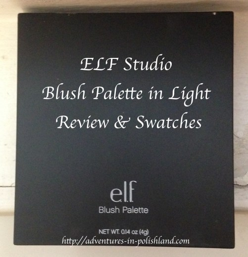 ELF Studio Blush Palette in Light | Review & Swatches