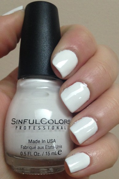 SinfulColors – Snow Me White