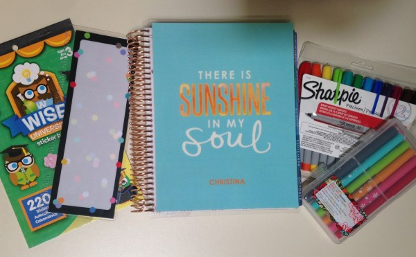 Back to School Week | How to Use the Erin Condren Life Planner for College
