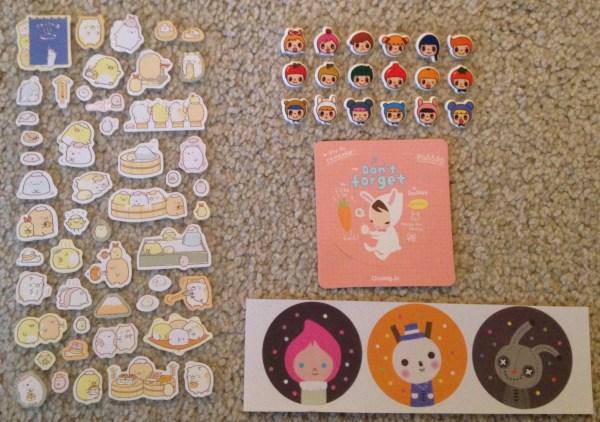 Pipsticks Unboxing | Kawaii Stickers