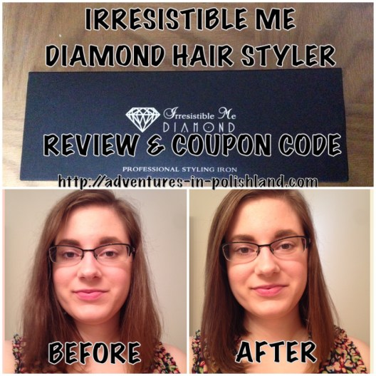 Irresistible Me Diamond Hair Styler | Review + Coupon Code
