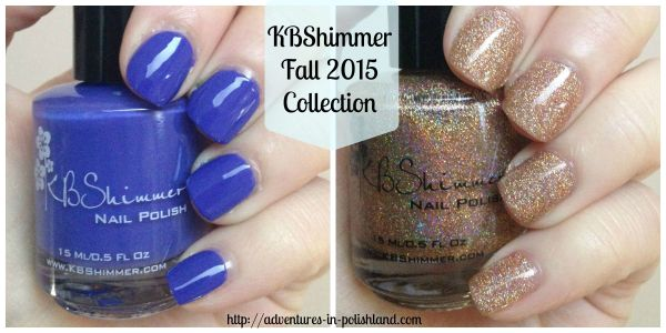 KBShimmer Fall 2015 Collection | Breaking Blues & I Feel Gourd-geous