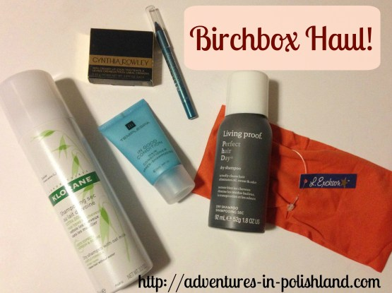Birchbox Haul Hair Care & Makeup